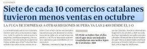 La Generalidad de Cataluña es responsable de los daños causados por sus dirigentes